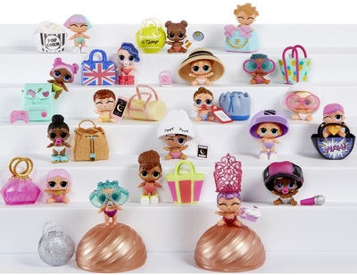 MGA Entertainment Игрушка LOL Surprise Lil Sisters 549550 Конфетти поп Detbot (фото, вид 1)