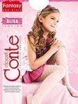 Conte Kids Колготы ALISA эластичные белые Detbot