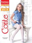 Conte Kids Колготы Anita эластичные Белые